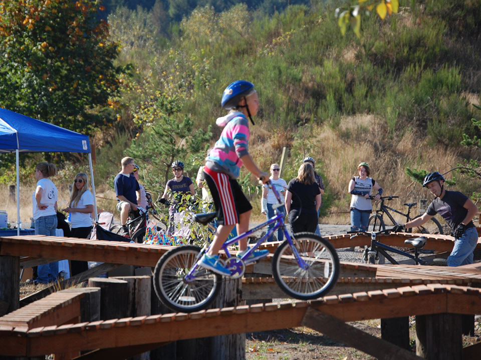 Castle Rock Bike Skills Park
