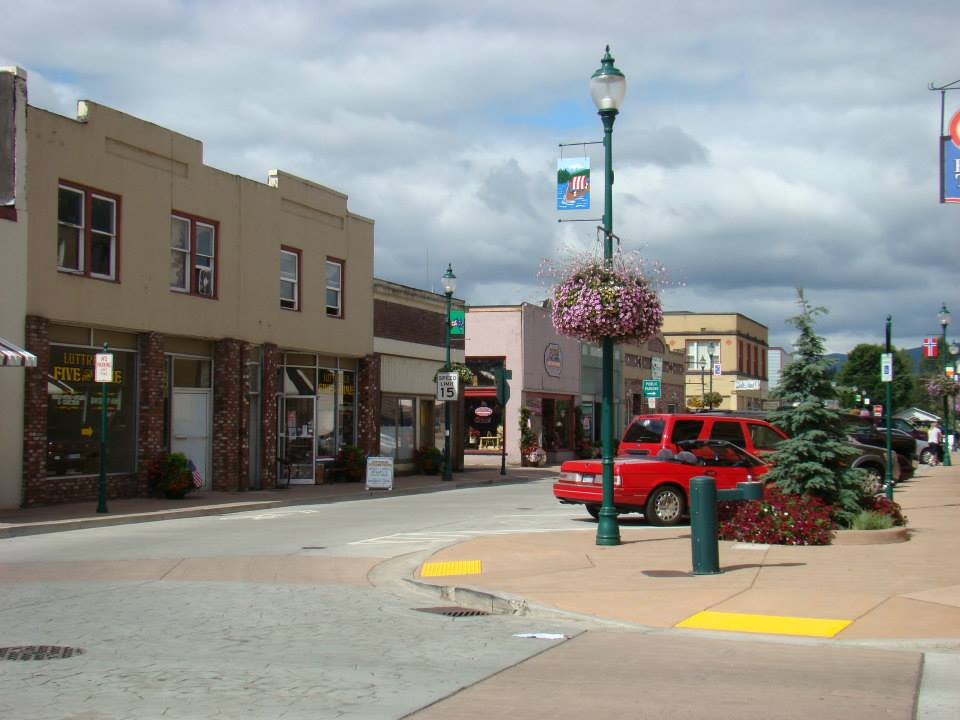 Castle Rock downtown 2015